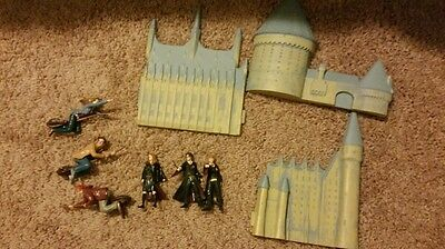 Set of Harry Potter cake toppers. Very rare