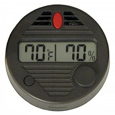 Quality Importers HygroSet II Round Digital Hygrometer for Humidors, New
