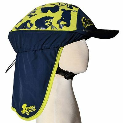 Children's Bicycle Helmet - Slip-on Sun Protection Cover - UPF50+ (Action)
