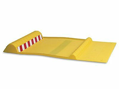 MAXSA Innovations 37356 Park Right Yellow Parking Mat, New, Free Shipping