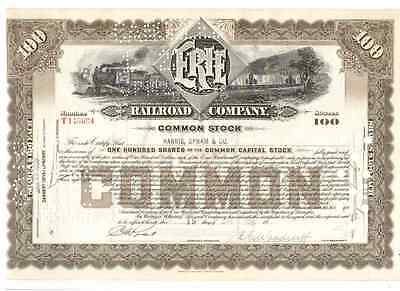 Erie Railroad Company  1939   100 Shares