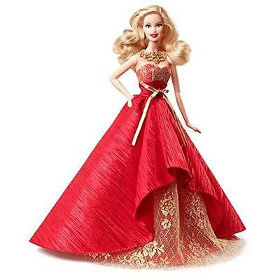 Barbie Collector 2014 Holiday Doll New