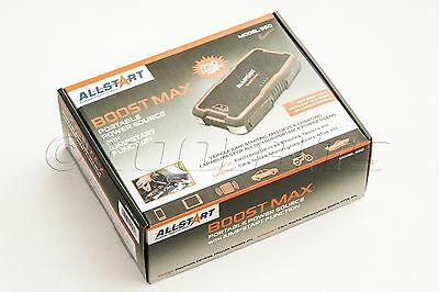 ALLSTART560A Boost Max Portable Power Source. Booster 450amps. Jump Start.
