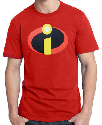 Incredibles Movie Logo Adult T-shirt