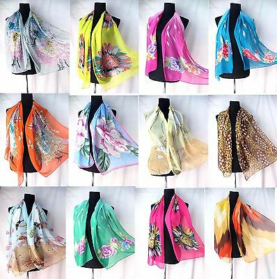 US SELLER-lot of 5 scarf classic plaid animal print Scarves at Wholesale Prices