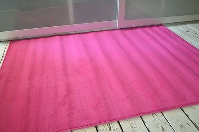 Red Blue Pink Lime Green Plain Soft fun rugs Skittles Childrens Large 120x160cm