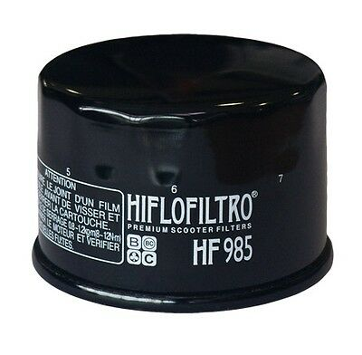 Yamaha XP500 / XP530 T-Max (2001 to 2016) HifloFiltro Oil Filter (HF985)