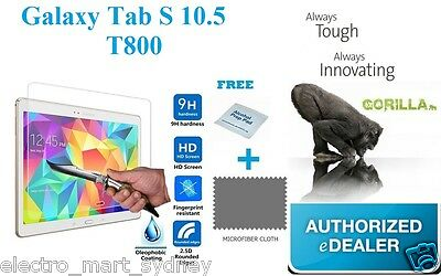 Gorilla Tempered Glass LCD Screen Protector For Samsung Galaxy Tab S 10.5 T800