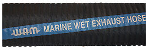 "Marine Exhaust Hose 3"" I.D. Lloyds Approved - order per metre FREE FREIGHT"