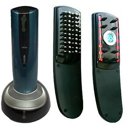 Beauty Massager Hair Growth Comb Combines Infrared Laser Massage Therapy Battery