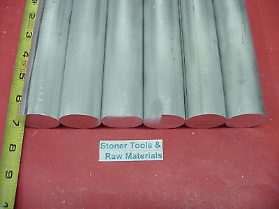"""5 Pieces 1-1//8/"""" ALUMINUM 6061 ROUND ROD 12/"""" long Solid T6511 Extruded BAR STOCK"""