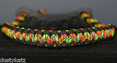 Neon Calypso and Black bow wrist Bling Sling strap for archery mathews hoyt pse