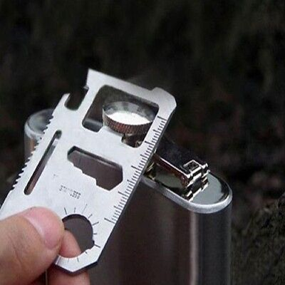 Hot Sale Camping Tool 11 in 1 Multifunction Multi Credit Card Survival Knife