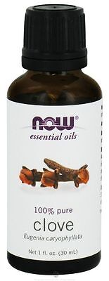 Now Foods 100% Pure Clove Essential Oil 1 oz For Burners & Diffusers