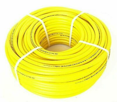 Divers Air breathing Hookah hose 10mm x 100m coil Diving Esdan Yellow Australian