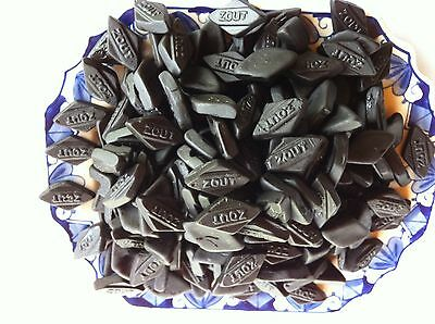 Dutch Licorice  Kleine Zoute Snippers - Small Light Salty Diamonds BIG 1 Kg Bag