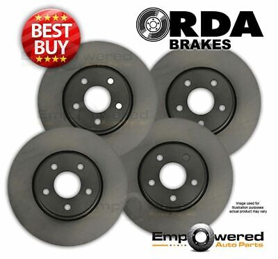 FULL SET Fits Mitsubishi Magna TE TF TH TJ TL TW 2/1996 on DISC BRAKE ROTORS