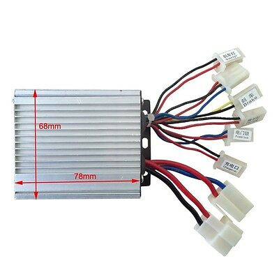 36V 350W Motor Brush Speed Controller Box for Electric Bicycle & Scooter Bike