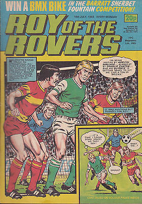 ROY OF THE ROVERS 16-07-1983 (Free Postage)