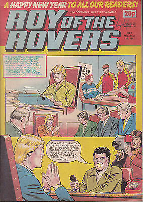 ROY OF THE ROVERS 31-12-1983 Paul McStay CELTIC (Free Postage)