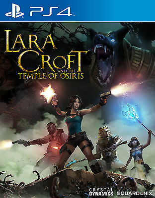 New Lara Croft And the Temple of Osiris (PS4, Playstation 4)