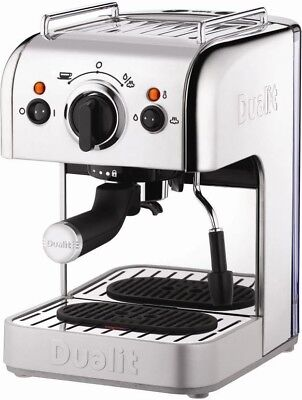 Dualit 3 In 1 Coffee Machine 15 Bar 1250W Polished Stainless Steel