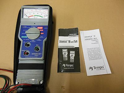 TEMPO SIDEKICK 7B AND T