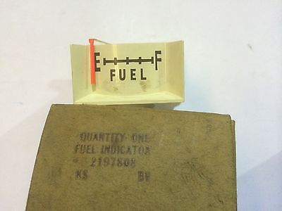 NOS MOPAR 2197808 - 1961 Plymouth, Fuel Gauge Assembly