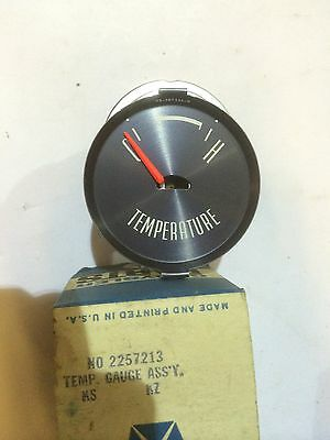 NOS MOPAR 2257213 - 1962 Plymouth, Temperature Gauge Assembly