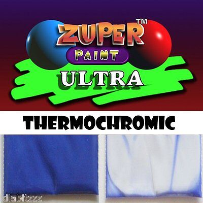 Thermochromic Temperature BLUE colour changing at 31c powder Ultra pigment 5g