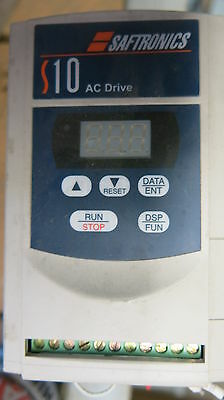 Saftronics S10 AC Drive .5 HP Variable Frequency Drive