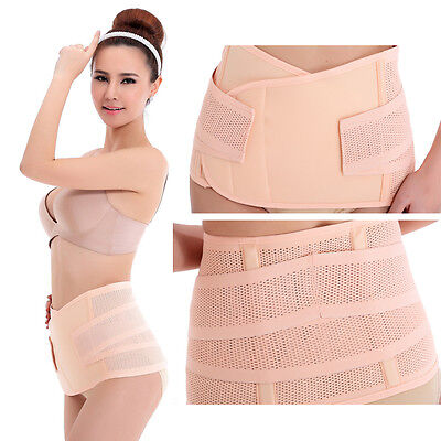 Postpartum Support Recovery Belly Waist Belt After Pregnancy Maternity Shaper UK