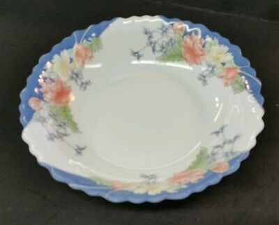"LUMINARC ARCOPAL ""FLORINE"" 7 1/4"" COUPE SOUP BOWL - SWIRL RIM - MULTIPLES"