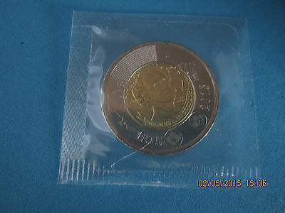 "$2 Dollars  Sir John A. Macdonald  ""Twoonies  "" Cellophane Sealed  Canada 2015"