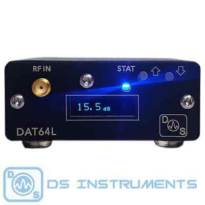 Programmable RF Attenuator - 0 to 63dB - Display & USB (DAT64L)