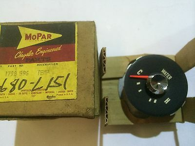 NOS MOPAR 1798596 - 59-60 Dodge Truck,Temperature Gauge Assembly