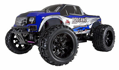 REDCAT RACING BLUE VOLCANO EPX 1/10 SCALE ELECTRIC BRUSHED REMOTE CONTROL TRUCK