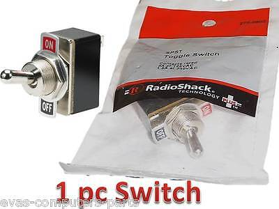 New Radioshack TOGGLE SWITCH WITH ON/OFF LABEL PLATE 275-0602