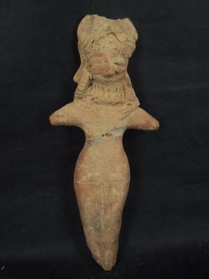 Ancient Teracotta Indus Valley Large Shunga Mother Goddess C.500 BC