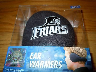 NIB DEGREES BY 180s Licensed College Ear Muffs Warmers PROVIDENCE FRIARS $35.00