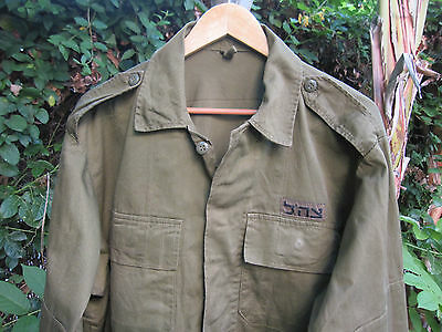 ISRAEL IDF ARMY - GOLANI BRIGADE L FIELD SHIRT W/ ZAHAL SIGNS ! AUTH.NEW.UNIQUE.