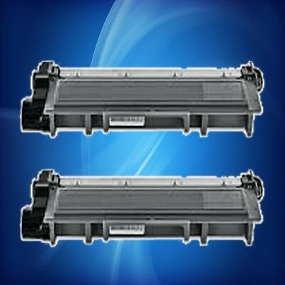 2pk TN660 for BROTHER HL-2300 2305 2320 2340 2360 2380 DCP-L2520DW 2540DW