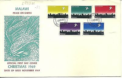 5/11/1969 Malawi First Day Cover FDC - Christmas 1969