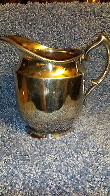 Lovely Silverplate Pitcher EPNS 1023-Antique
