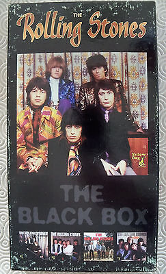 "ROLLING STONES ""BLACK BOX MILLENNIUM EDITION"" 4CD BOX+ COLOUR BOOKLET yellow dog"