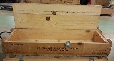 VTG Military Gun / Ammunition Crate for M401A Rifle. Perfect for Storage