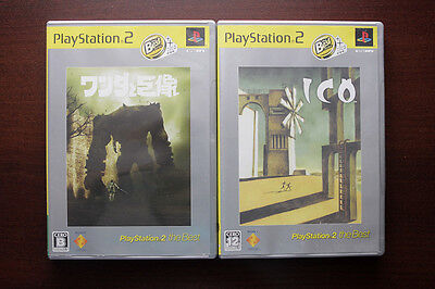 Playstation2 PS2 ICO / Shadow of Colossus Japan Import game