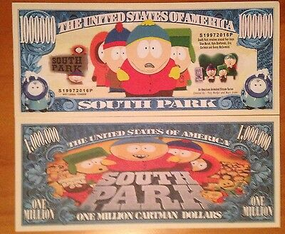 South Park Million Dollar Bill