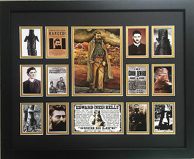 Ned Kelly Limited Edition Framed Memorabilia