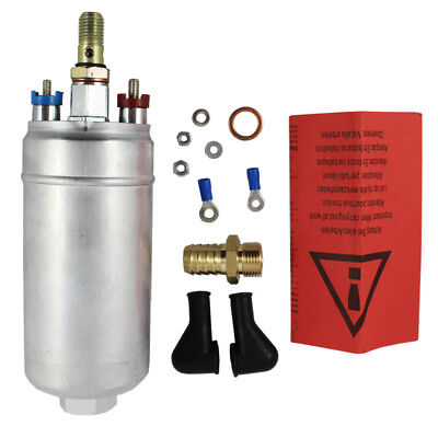 NEW 300LPH Universal External Inline Fuel Pump Replacing For BOSCH 0580254044
